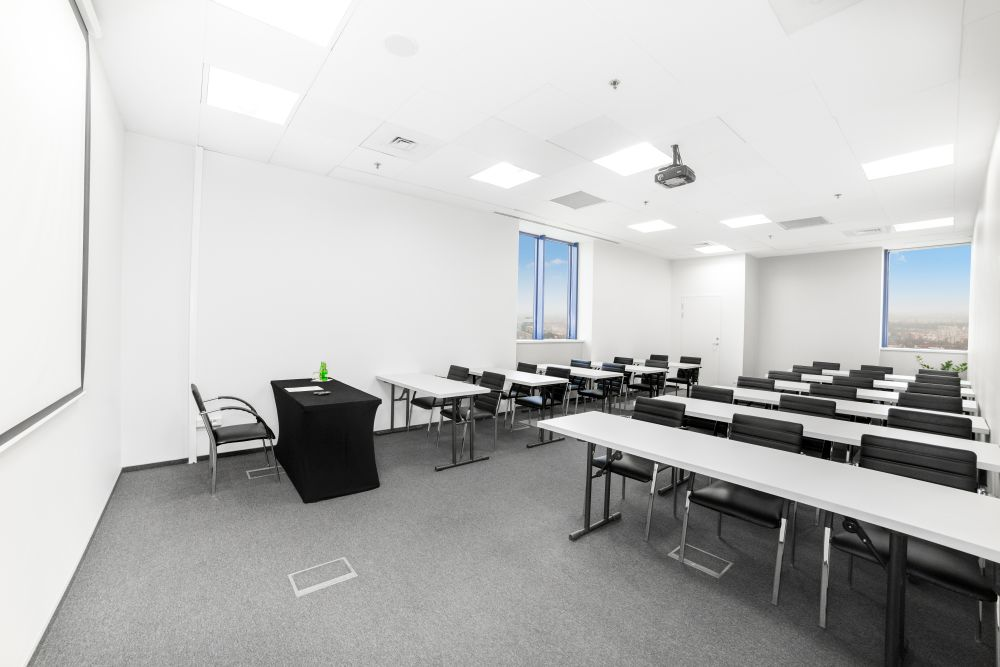 Sala szkoleniowo - konferencyjna E na wynajem Golden Floor Plaza, al. Jerozolimskie 123A, Warszawa Centrum